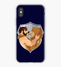 ADAM AND BOBO LIKE CUDDLES - SHIELD VERSION iPhone Case