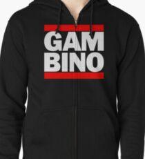 Sudadera con capucha y cremallera Gambino - II