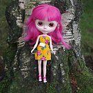 Ichigo Heaven Blythe doll by jojobongo