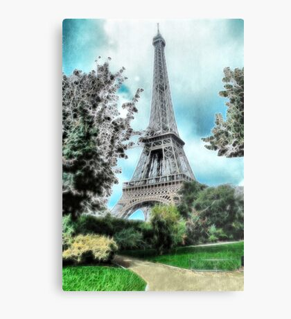 Eiffel Tower #2 Metal Print