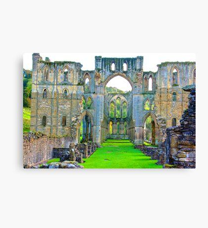 Rievaulx Abbey #1 Canvas Print