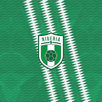 Nigeria Football by fimbisdesigns