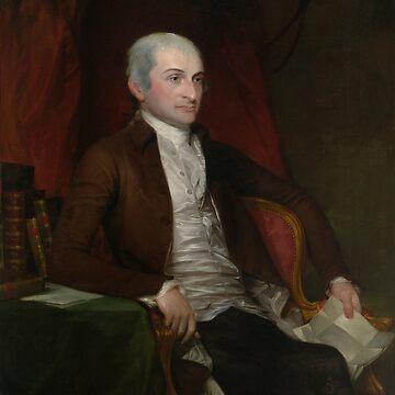 Chief Justice John Jay Painting - Gilbert Stuart by warishellstore