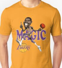 Magic Johnson Retro Cartoon T Shirt Unisex T-Shirt