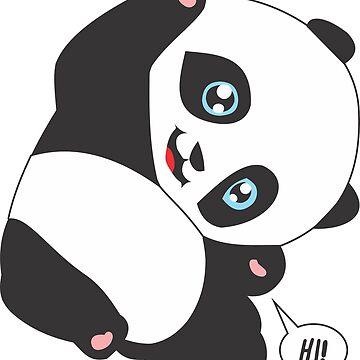 Panda Bear - HI! (v.2) by culturageekstor