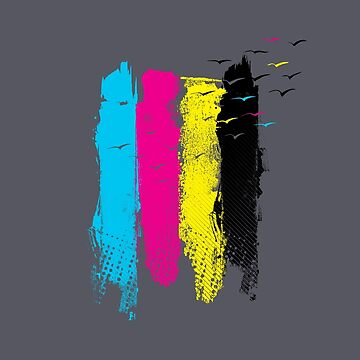 Escape In CMYK by expo