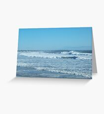 Nor' Easter rolling in .... Greeting Card