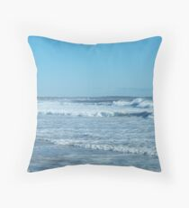 Nor' Easter rolling in .... Throw Pillow