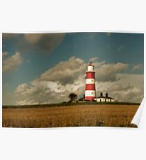 Happisburgh Lighthouse 2 Poster