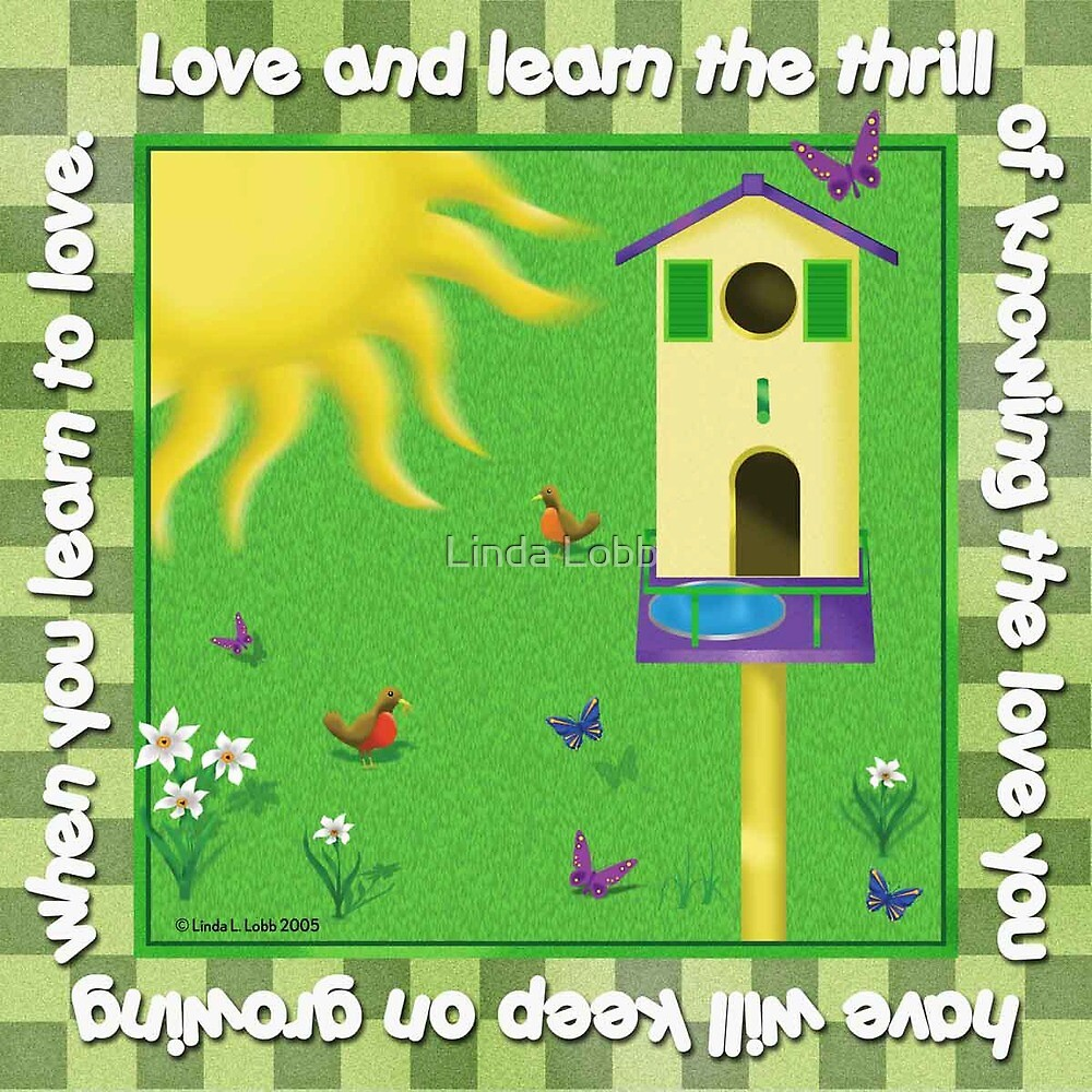 Love and Learn by Linda Lobb