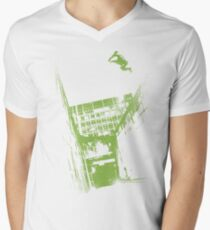 Pure Parkour Mens V-Neck T-Shirt