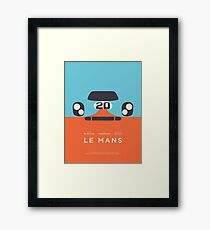 Le Mans Movie Gulf - Layout B Framed Print