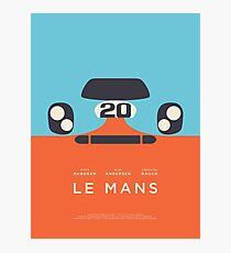 Le Mans Movie Gulf - Layout B Fotodruck