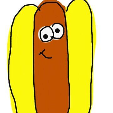 hot dog <3 by lucystshirts