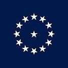 13-Star American Flag, Cowpens Design, Evry Heart Beats True by EvryHeart