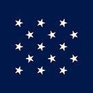 15-Star American Flag, Kentucky, Evry Heart Beats True by EvryHeart