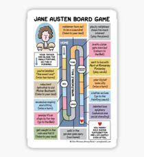 Jane Austen Brettspiel Sticker