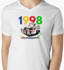 Watercooled Fire Breather – GT1 Inspired Men's V-Neck T-Shirt