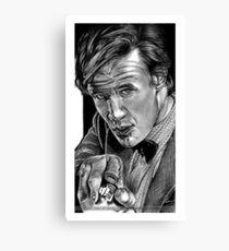 Matt Smith, DOCTOR WHO XI Canvas Print