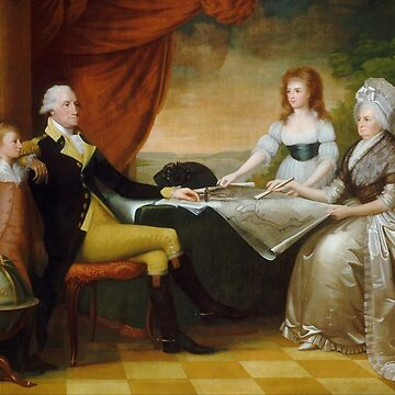 President Washington and His Family - Edward Savage by warishellstore
