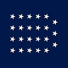 19-Star American Flag, Indiana, Evry Heart Beats True by EvryHeart