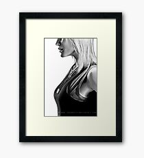 Nothing But The Rain. Framed Print