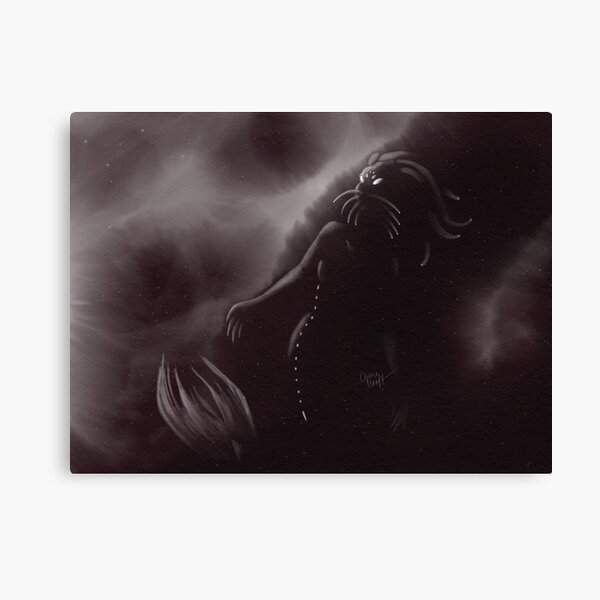 Is Anyone There 2018 MerMay Painting Canvas Print