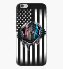 Black Knight American Flag Version 2 iPhone Case