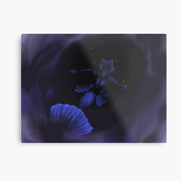 What Exactly Are You Afraid Of? 2018 MerMay Painting Metal Print