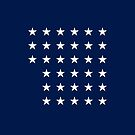 33-Star American Flag, Oregon, Evry Heart Beats True by EvryHeart