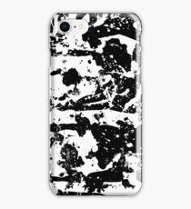 Trashed BW iPhone Case/Skin