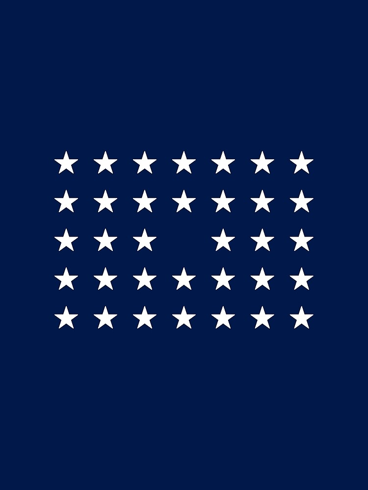 34-Star American Flag, Kansas, Evry Heart Beats True by EvryHeart