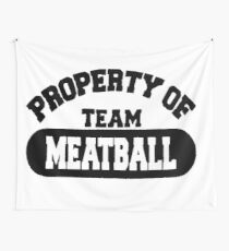 Team Meatball Wall Tapestry