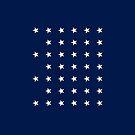 39-Star American Flag, North Dakota, Evry Heart Beats True by EvryHeart