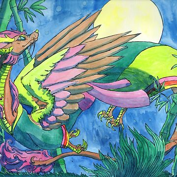 the celestial dragon's song by grunesgryphon