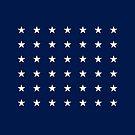 42-Star American Flag, Washington, Evry Heart Beats True by EvryHeart