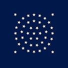 44-Star American Flag, Wyoming, Evry Heart Beats True by EvryHeart