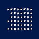 45-Star American Flag, Utah, Evry Heart Beats True by EvryHeart
