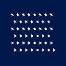 46-Star American Flag, Oklahoma, Evry Heart Beats True by EvryHeart