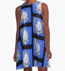 French France Coat of Arms 17377 Blason Louis Antoine de Bougainville A-Line Dress