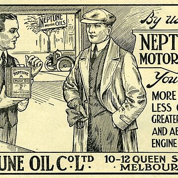 Neptune Oils. The Aussie Favourite from the 1920s!  by taspaul