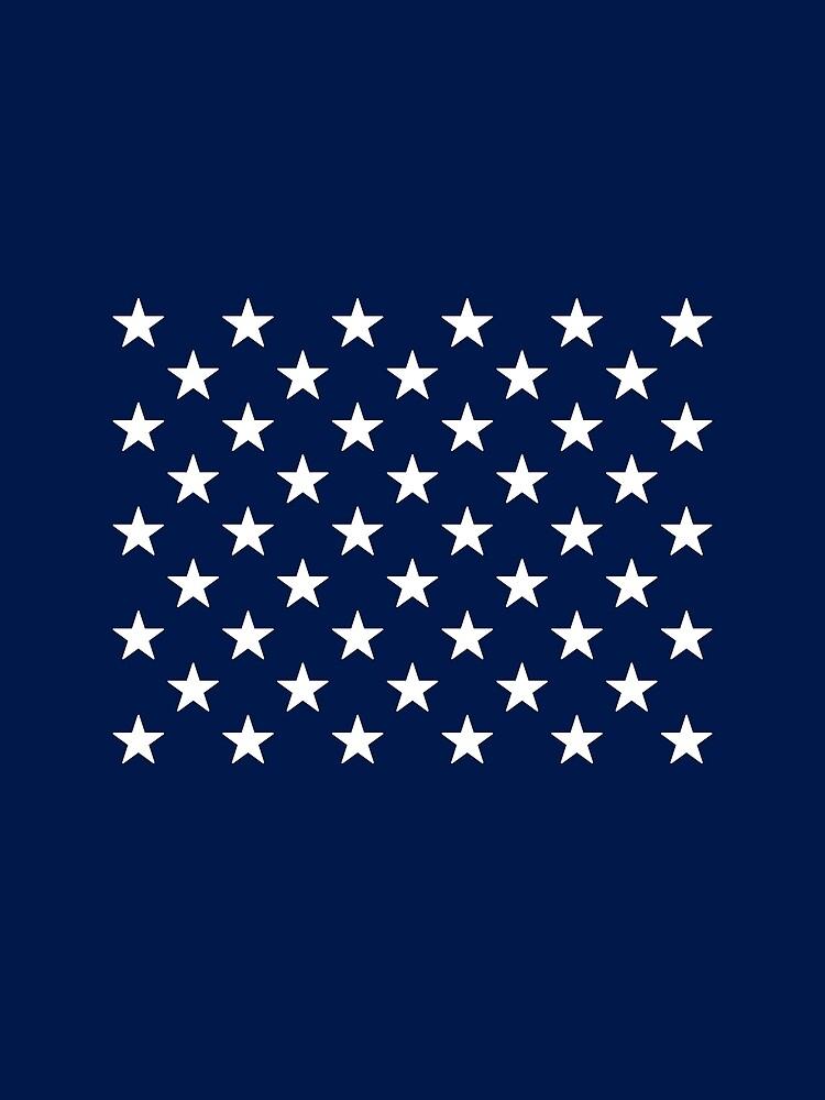 50-Star American Flag, Hawaii, Evry Heart Beats True by EvryHeart