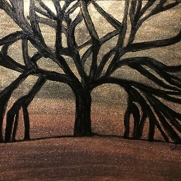 Tree of Life Painting 101218 by mandalafractal