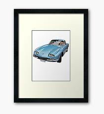 Vintage Italian Sports Car Framed Print