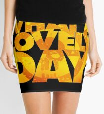 What a lovely day v.2 Mini Skirt