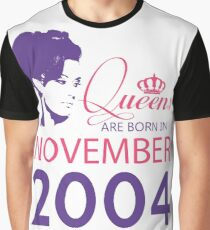 It's My Birthday 14. Made In November 2004. 2004 Gift Ideas. Graphic T-Shirt