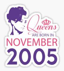 It's My Birthday 13. Made In November 2005. 2005 Gift Ideas. Sticker