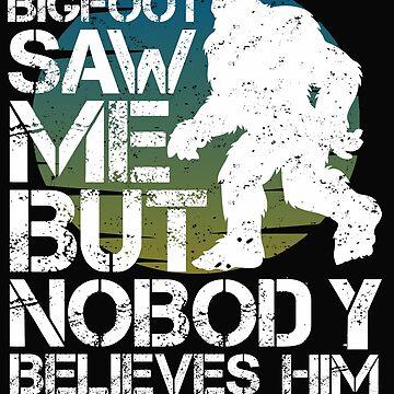 Very Big Bigfoot - Hide and Seek Campion by alenaz