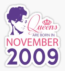 It's My Birthday 9. Made In November 2009. 2009 Gift Ideas. Sticker