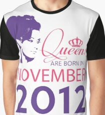 It's My Birthday 6. Made In November 2012. 2012 Gift Ideas. Graphic T-Shirt